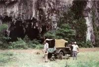 Вход в одну из пещер на о. Куба.